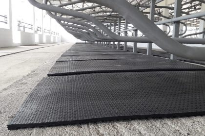 Where to buy rubber cow mats and what is the price